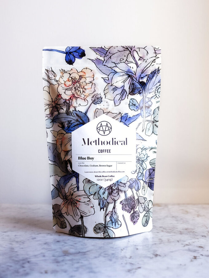 This photo shows the Blue Boy coffee from Methodical Coffee. Keep the handmade cards, bouquets or breakfasts in bed coming this Mother's Day, but up your game in celebration of brighter days ahead with a store-bought gift. (Methodical Coffee via AP)