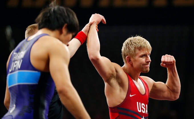 Burroughs, Dake on collision course at US wrestling trials