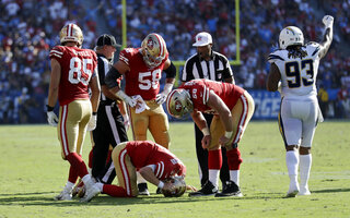 49ers Chargers Football