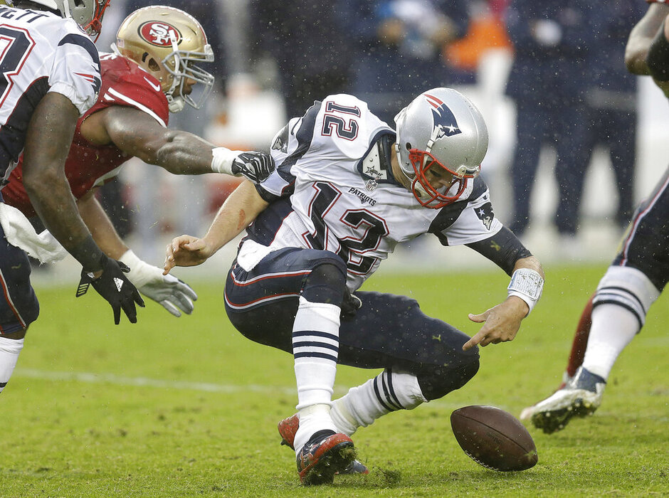 Tom Brady, Ahmad Brooks