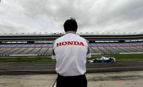 IndyCar Texas Test Auto Racing