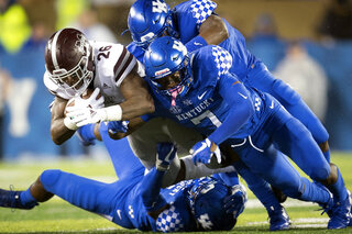 APTOPIX Mississippi St Kentucky Football