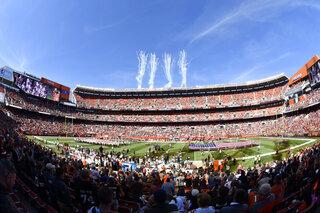 Browns Stadium Football