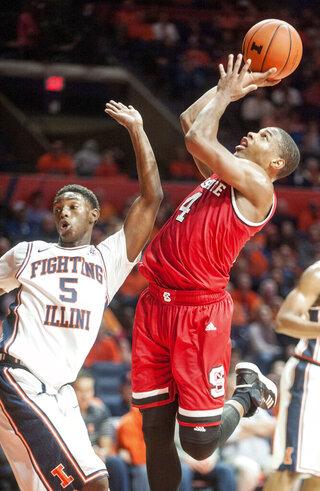 NC State Illinois Basketball