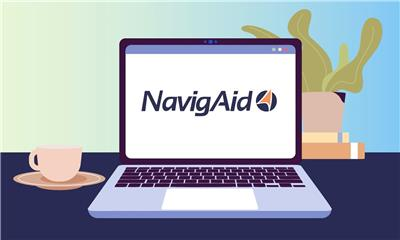 NavigAid is the new, easy-to-navigate online tool that guides you through the Medicaid application process. Until now, applying for Medicaid has been a daunting task, as caregivers struggle to navigate a complicated, involved and incredibly stressful process of understanding state-specific Medicaid application requirements. NavigAid's step-by-step instructions simplify the process, making it easier, faster and less stressful to file for Medicaid benefits that cover the costs of long-term skilled nursing care, either at home or in a residential facility. This means you can spend less time on paperwork and more time on the person you love when you apply for Medicaid to cover the costs of long-term care. (Graphic: Business Wire)