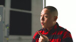 In this Nov. 22, 2019, photo provided by Ajinomoto, chef Eddie Huang is seen in New York filming a video for a campaign challenging Merriam-Webster's dictionary entry of