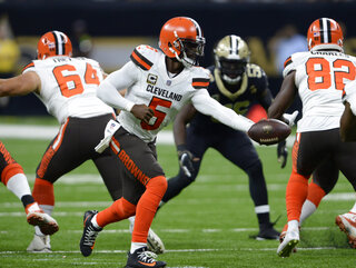 Browns Saints Football