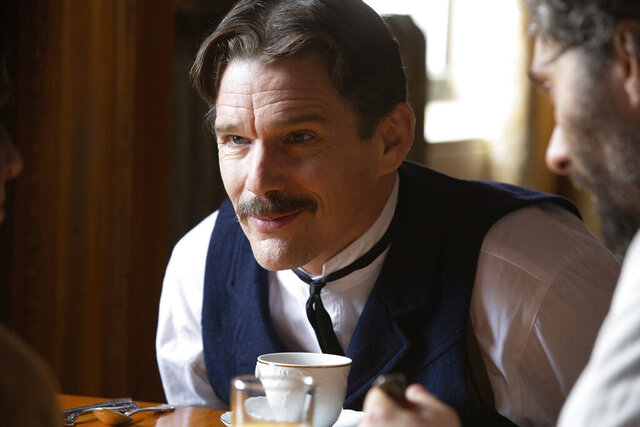 This image released by IFC Films shows Ethan Hawke in a scene from
