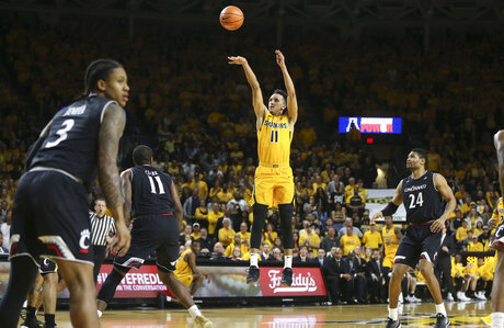 Cincinnati Wichita State Basketball
