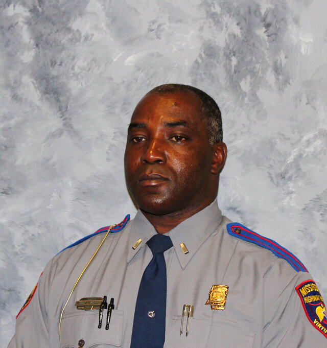 In this undated photo provided by Mississippi Highway Patrol is Lieutenant Troy Morris. Three people are in custody for their alleged roles in the shooting death of the off-duty Mississippi trooper, authorities said Saturday, Aug. 8, 2020. Morris' body was found inside a postal service delivery truck about 4:30 a.m. Friday, in Jefferson County. The 27-year veteran trooper worked part-time for the U.S. Postal Service. (Mississippi Highway Patrol via AP)