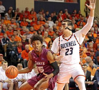 Patriot Colgate Bucknell Basketball