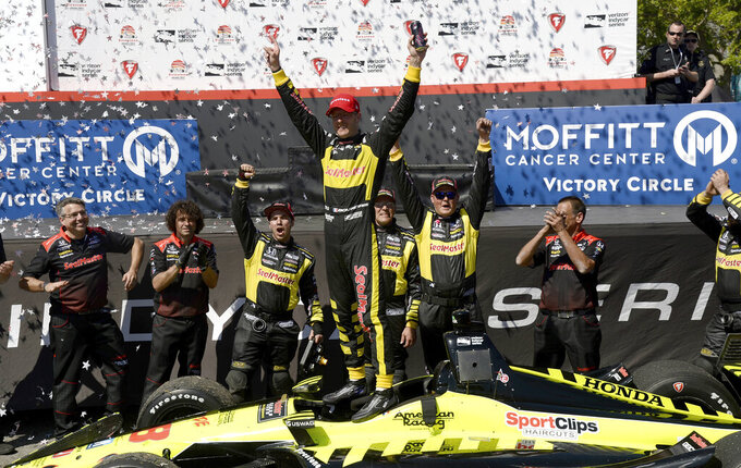 Sebastien Bourdais seeks 3-peat on streets of St. Pete