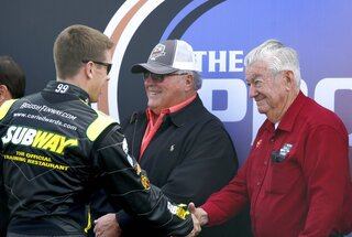 A.J. Foyt, Bobby Allison, Carl Edwards