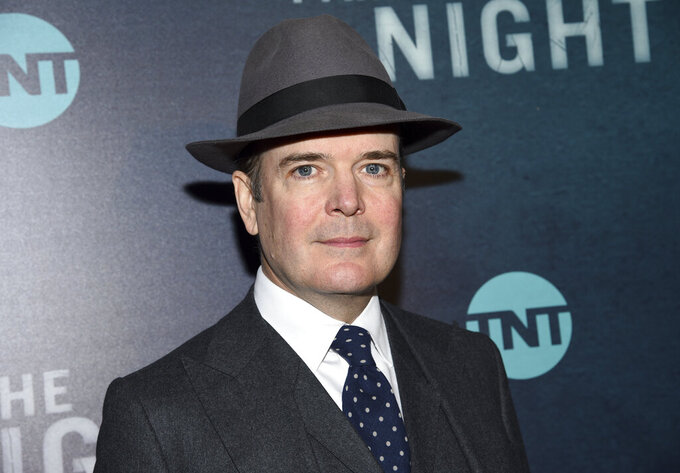 """FILE - Actor Jefferson Mays attends the premiere of the TNT mini-series """"I Am the Night"""" in New York on Jan. 22, 2019. Mays, who won a Tony Award for playing 40 characters in """"I Am My Own Wife"""" and was nominated for another for playing nine roles in """"A Gentleman's Guide to Love and Murder,"""" is readying a new one-man version of """"A Christmas Carol"""" for the holidays, playing some 50 characters. (Photo by Evan Agostini/Invision/AP, File)"""