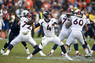 Broncos Comfortable Keenum Football