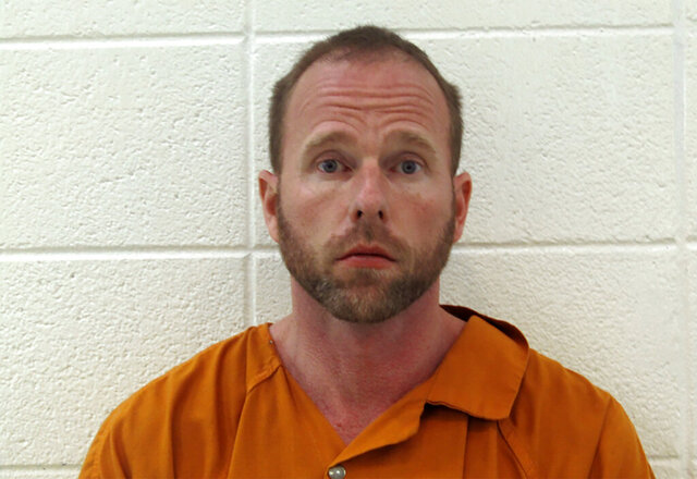 This photo provided by Laurel County Corrections shows Kentucky State Rep. Robert Goforth.  Goforth, who challenged the state's governor in last year's Republican primary was arrested on strangulation and assault charges. Goforth was arrested by the Laurel County sheriff's office in his hometown of East Bernstadt, according to the Laurel County jail.   (Laurel County Corrections via AP)