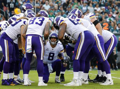 Vikings Cousins Football