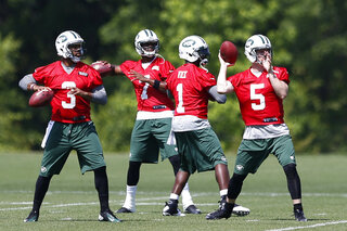 Tajh Boyd, Geno Smith, Michael Vick, Matt Simms