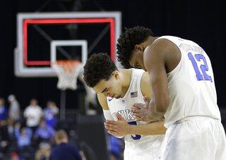 NCAA Duke Utah Basketball