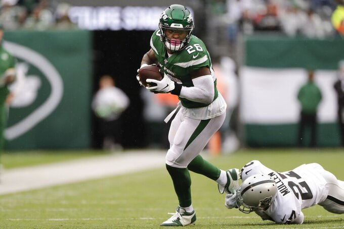 Jets' Bell playing some of 'best football' of career