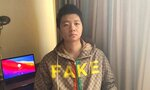 This undated photo released by rights group Safeguard Defenders shows Wang Jingyu in an undisclosed location. Wang, a permanent resident of the United States wanted by China, was freed by Dubai on Thursday, May 27, 2021, after spending weeks in detention, and boarded a flight to Turkey. Beijing had sought Wang over his online comments about a deadly confrontation between Chinese and Indian forces in 2020. (Safeguard Defenders via AP)