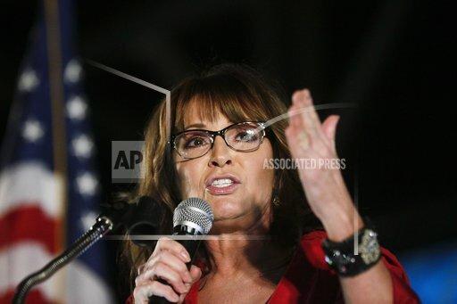 APTOPIX Sarah Palin Alabama