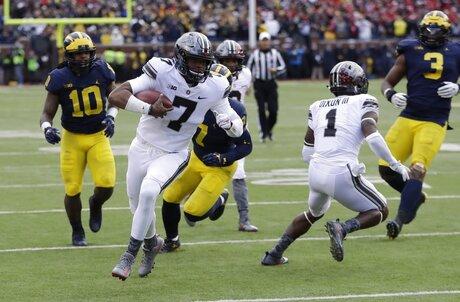 Ohio St Michigan Football