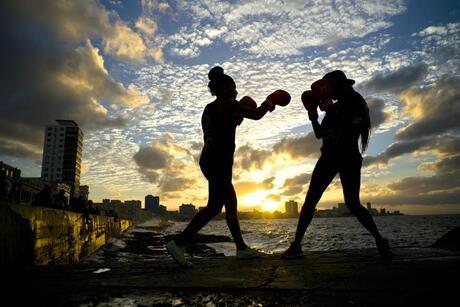 APTOPIX Cuba Women's Boxing Photo Gallery