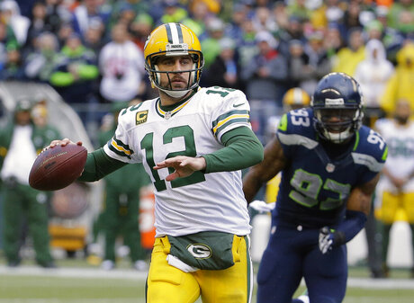 Packers' Aaron Rodgers says calf should heal within 6 weeks