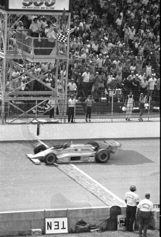 Indy 500 1982 Countdown Race 66 Auto Racing
