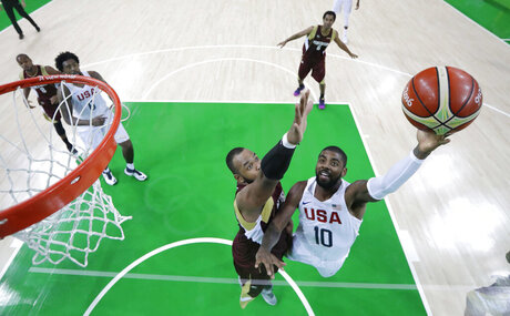 Kyrie Irving, Gregory Echenique