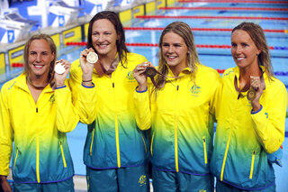 Bronte Campbell, Cate Campbell, Shayna Jack, Emma McKeon