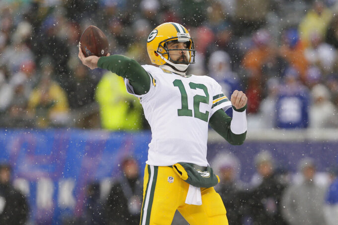 Washington to face Rodgers in first December trip to Lambeau