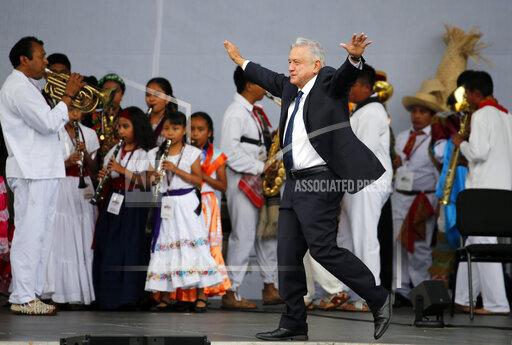 Mexico Obrador Anniversary