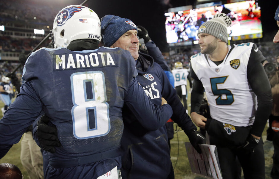 Marcus Mariota, Mike Mularkey, Blake Bortles