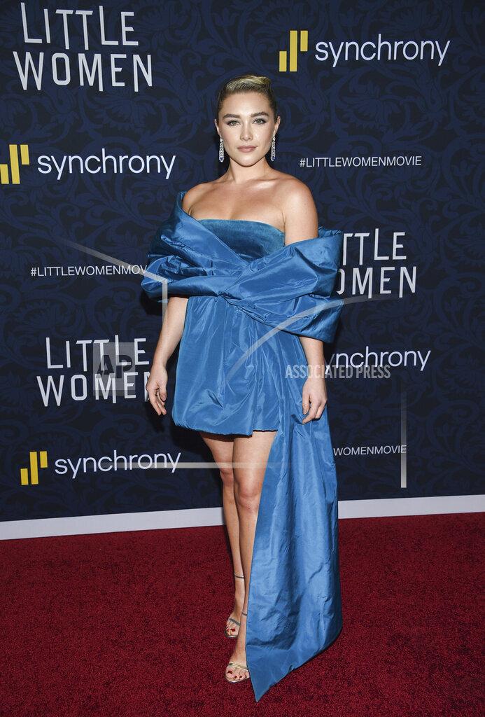 """APTOPIX NY Premiere of """"Little Women"""""""