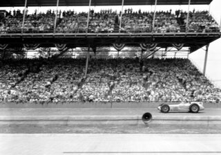 Indy 500 1957 Countdown Race 41 Auto Racing