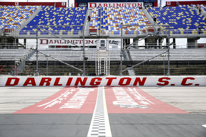 Darlington Raceway set for first of 2 NASCAR weekends
