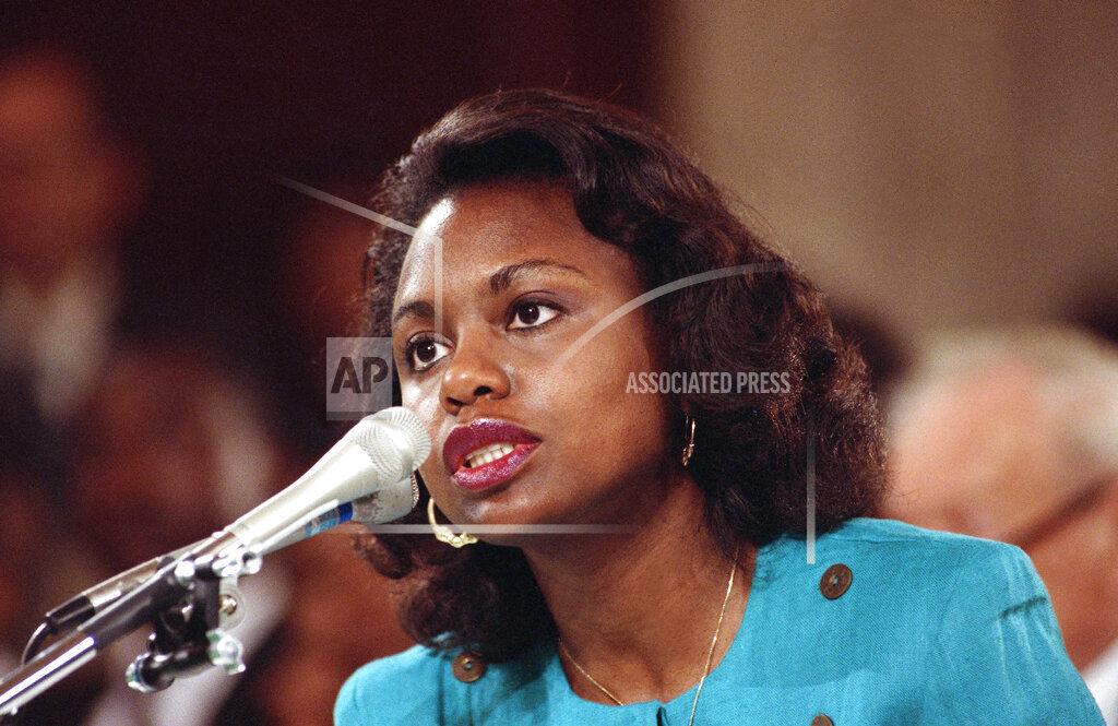 Watchf AP A  DC USA APHS305588 Anita Hill 1991