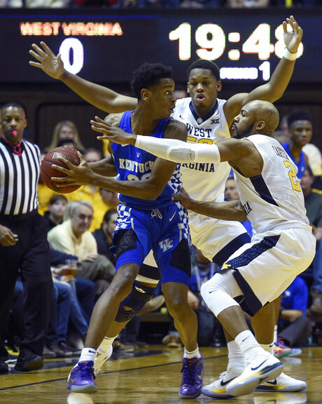Kentucky West Virginia Basketball