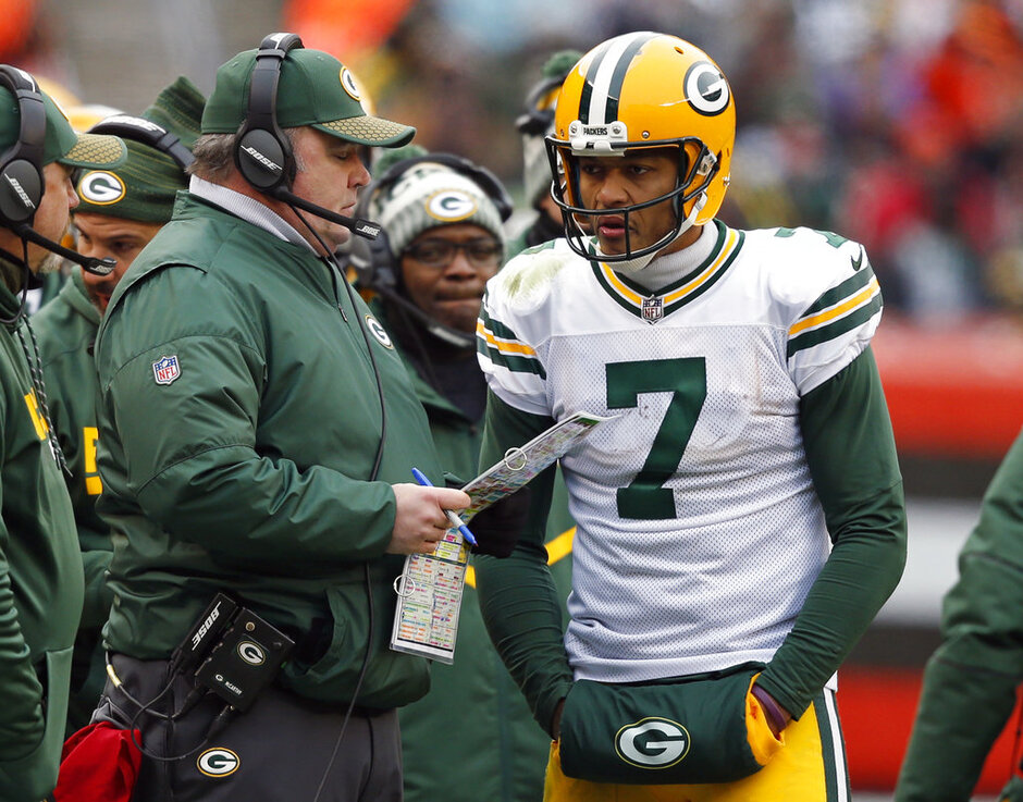 Mike McCarthy, Brett Hundley