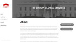 This screen shot from the 45 Energy Group website, shows their Global Services webpage. As part of their impeachment inquiry, House Democrats have subpoenaed Rudy Giuliani for documents and communications related to dozens of people, as well as 45 Energy Group. (AP Photo)