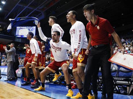 NCAA Providence USC Basketball