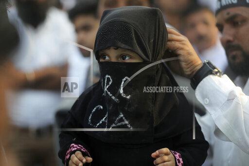 APTOPIX India Citizenship Law Protest