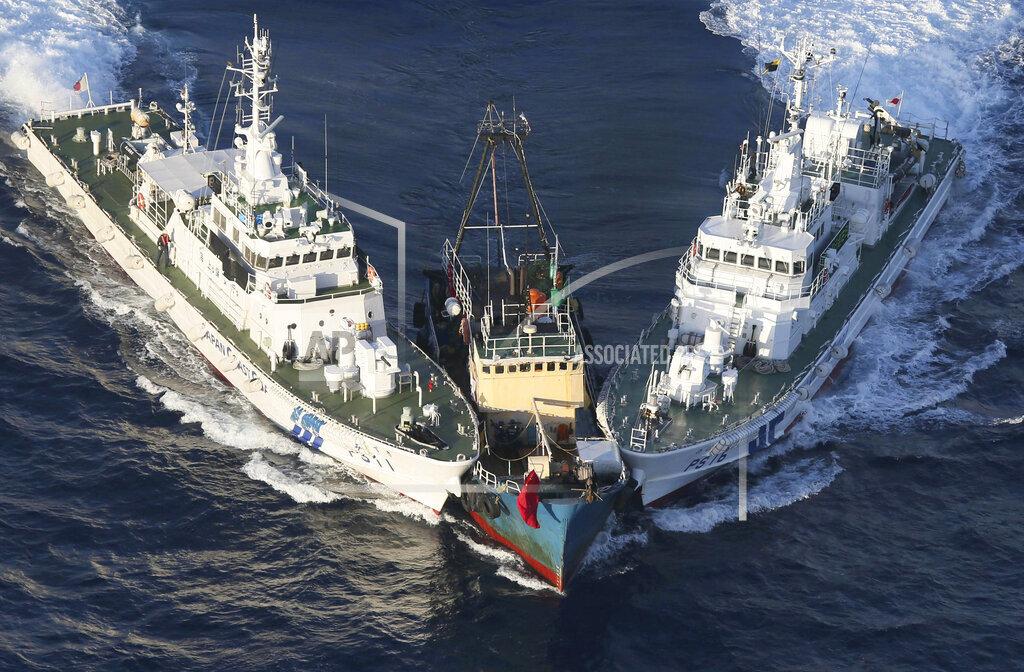 APTOPIX Japan Asia Disputed Islands