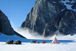 This 2011 photo provided by researcher Hamish Pritchard shows a two-man British Antarctic Survey field camp on Alexander Island off the Antarctic Peninsula.In a study released Wednesday, June 13, 2018, an international team of ice experts said the melting of Antarctica is accelerating at an alarming rate, with about 3 trillion tons of ice disappearing since 1992. (Hamish Pritchard/British Antarctic Survey via AP)