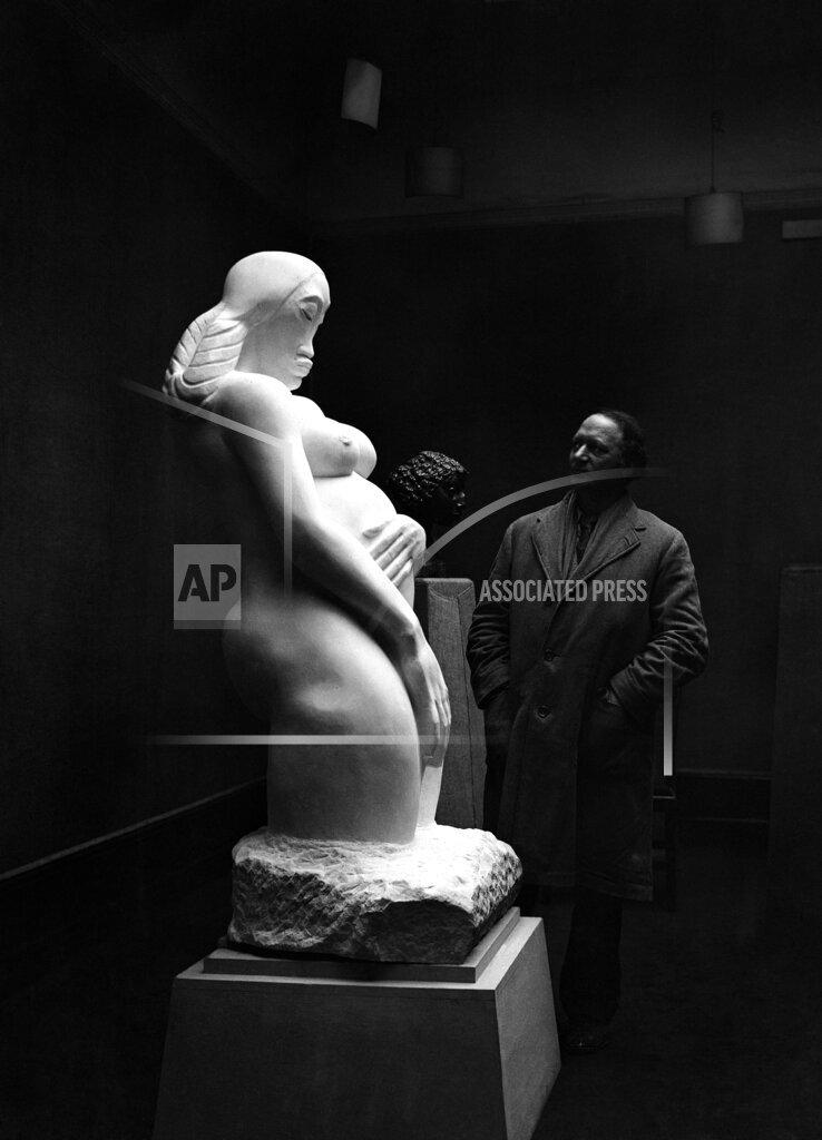 Watchf AP I    APHSL45163 Jacob Epstein Genesis Sculpture