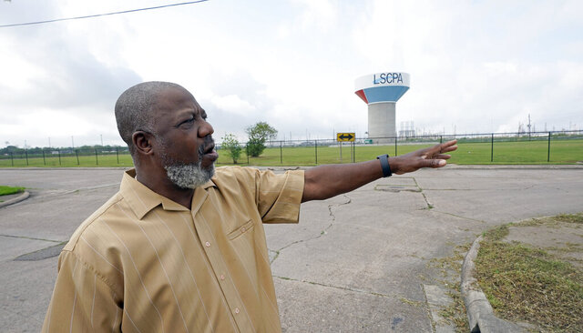 Activist Hilton Kelley talks about the neighborhood where he grew up Monday, March 23, 2020, in Port Arthur, Texas. Kelley says he started speaking out for Port Arthur's black community when he got fed up