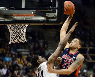 Arizona Colorado Basketball