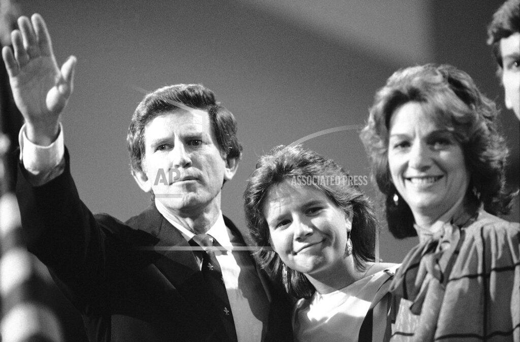 Watchf AP A  CA USA APHS244812 Sen. Gary Hart with Family